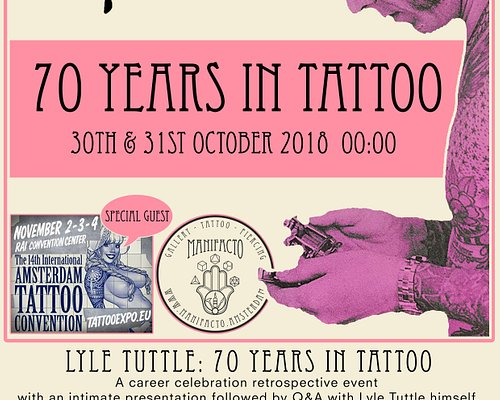 Lile Tuttle - 70 years in Tattoo happened on the 30th and 31st October 2018