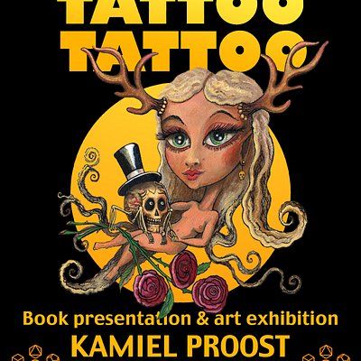 The Spring 2019 exhibition we will be launching the book Tatto Tattoo by Kamiel Proost, together with an exhibition of his art and sculptures.