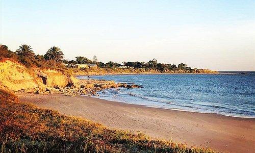 Un lugar muy lindo frente a la playa, atendido con esmero y buena onda