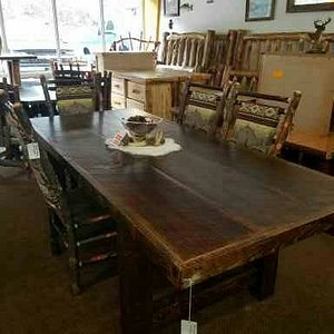 Just 1 example of the beautiful pieces available from out store.  We custom make our own furniture right at our location as well as have a LARGE selection from true Amish pieces from our builders.  Quality is number one at The Lazy Elk