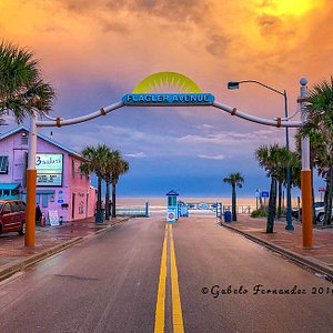 """""""Sunset at Flagler Ave"""" from the NSB Series 2019"""