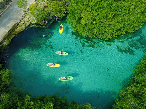 Paddleboarding tours with Extreme Control Adventures in Tulum Riviera maya