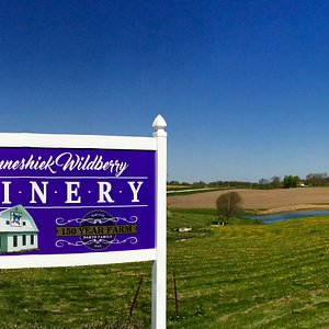 New sign with our 150 year Family Farm accolade.