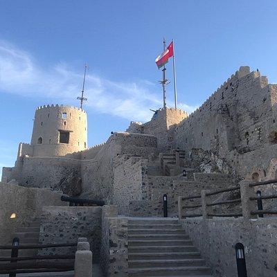 Castle in Muttrah Maskat Oman