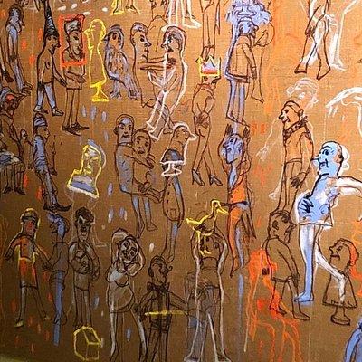 Fotos de la exposición de Liliana Golubinsky en Palacio de las Artes Duhau