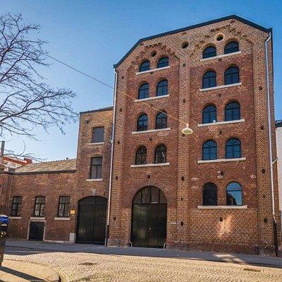 Brewery, malt house Wycker Grachtstraat after renovation