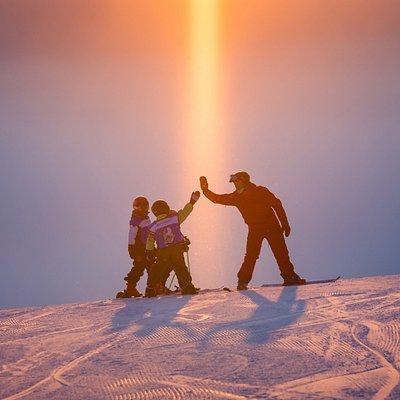 Valle's ski school