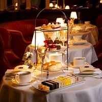 The Queen of Afternoon Teas at Hotel Cafe Royal London