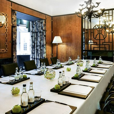 Private dining room at The Savoy.