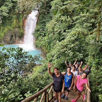 Rio Celeste Waterfall at Tenorio Volcano National Park