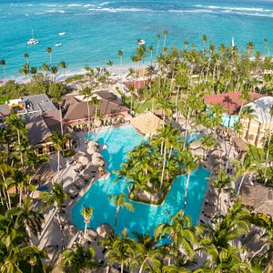 Aerial View Grand Palladium Punta Cana
