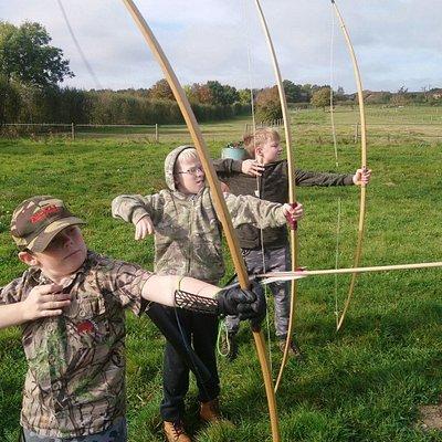 Kids archery camp in October half-term 2018