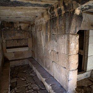 Parte interior del monumento