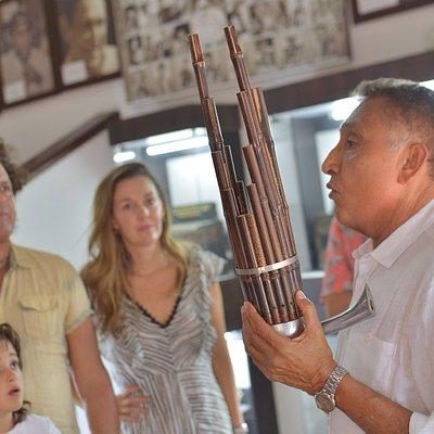 Carlos Vives en la Casa Beto Murgas - Museo del Acordeón Valledupar Colombia