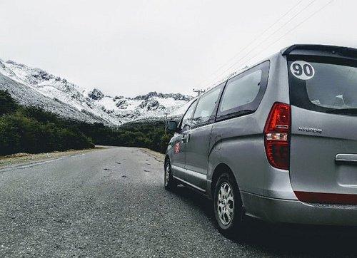 Camino a Glaciar Martial.
