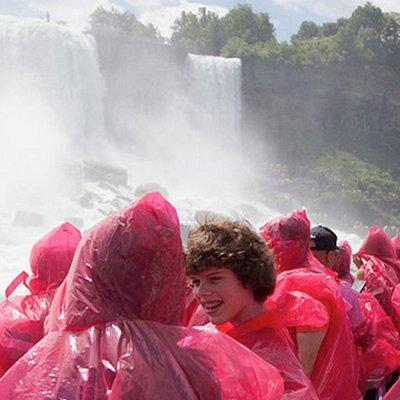 The Niagara Falls Hornblower boat ride