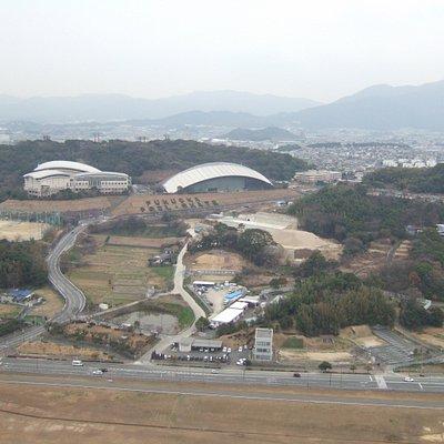 福岡空港のそばです