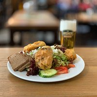 Schäufele-Salat