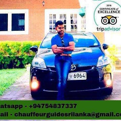 chauffeur guide Francophone au sri lanka