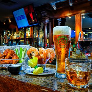 Enjoy some dinner, grab some drinks and watch the big game!
