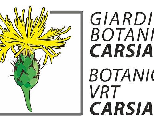 Logo ufficiale del Giardino botanico Carsiana