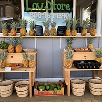 Check out our fruit stand for locally grown tropical fruits and fresh vegetables.