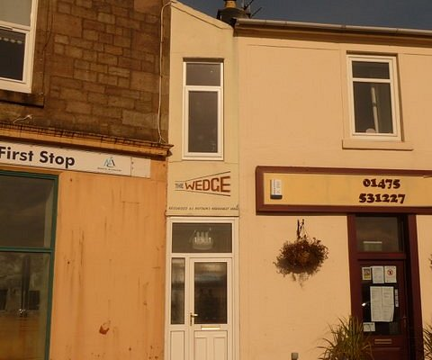 The wedge - narrowest house in world