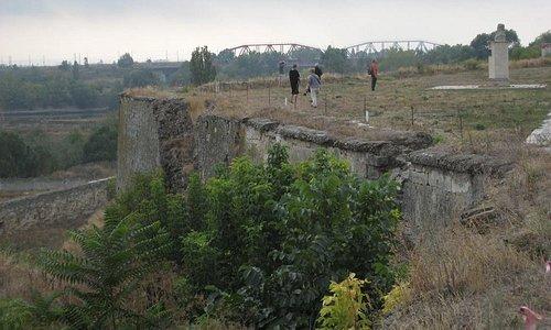Bender, blik op de voormalige frontlinie van 1991-92, de brug over de Dnjistr.