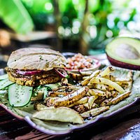 Healthy plant based food