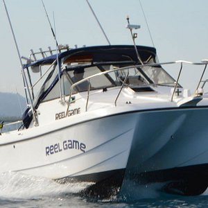 Reel Game - Custom build Game Charter  by Thunder Boats Fiji