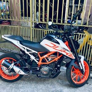 new member KTM DUKE 400CC