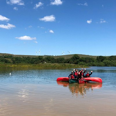A lovely day canoeing in Derbyshire