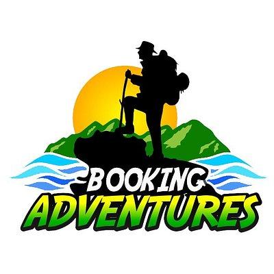 Logo Booking Adventures, Whale Samaná, Whales Tours, Los Haitises National Park, Saona Island, Salto el Limon, 27 Charcos de Damajagua Puerto PLata.