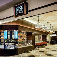 Entrance to Rise Kitchen & Deli