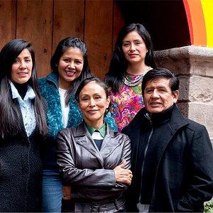 Bienvenidos a la casa de la familia Moreyra Cristóbal, guardianes de nuestra RICA CHICHA