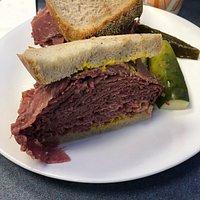 Corned beef sandwich
