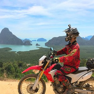Rally MC Motorcycle touring with private guide in Phuket, Thailand