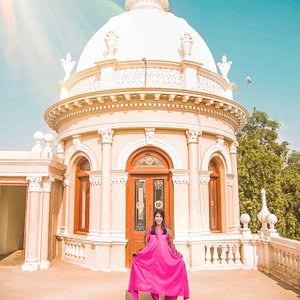 The stunning rooftop of Gulzar Mahal!