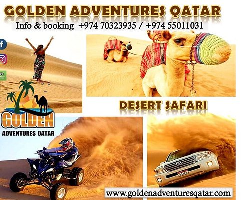 Get Ready and Make a Beautiful Plan Of Qatar 🇶🇦 Desert 🌵 Safari / Camel 🐪 riding Trip With Your Friends 👫 And Family at Very Affordable Price....✅ For more information contact ⬇️ 📱:+974 70323935 / 55011031 📧: info@goldenadventuresqatar.com 🌐https://goldenadventuresqatar.com/