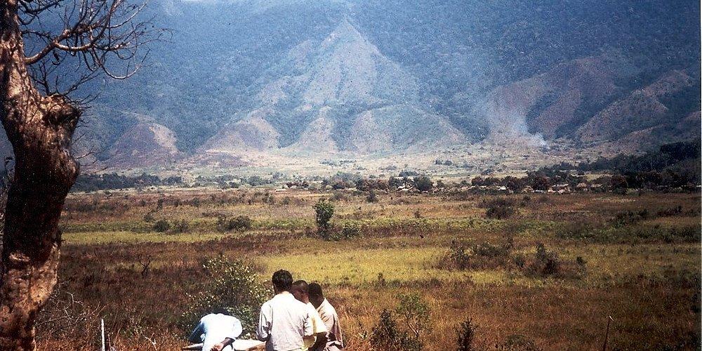Souvenirs de missions d'appui au Zaïre en 1990-91, au-delà de Fizi près du Maniema