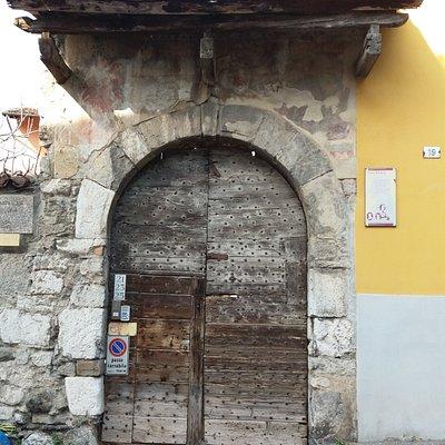 La presunta casa di Lucia ad Olate