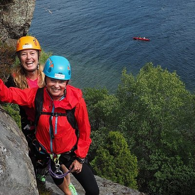Via Ferrata Tjøme - Climbing and rappelling along Tjøme`s beautiful coastline