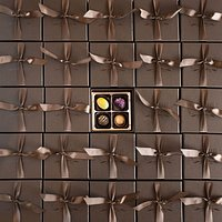 4 piece chocolate gift boxes