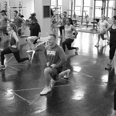 High Intensity Interval Training - great turnout today!