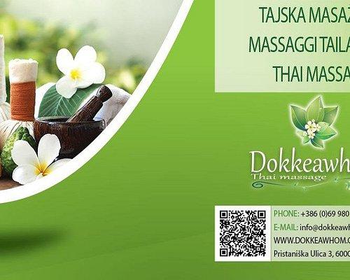Dokkeawhom Thai massage Koper Dokkeawhom Tajska masaža Koper