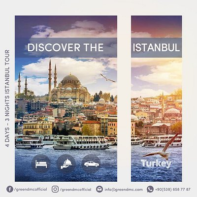 Discover Istanbul with us.