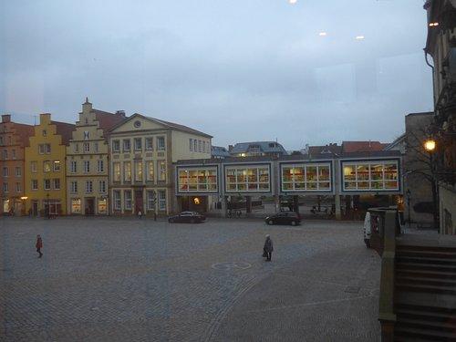 Osnabrueck, View on Municipal Library (Stadtbibliothek)