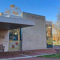 You may recognize the entrance to the Mitchell Gallery... Gallery hours during scheduled exhibitions:  Noon to 5 p.m. Tuesday through Sunday 6:45 to 7:45 p.m. on Friday Closed on Mondays Docent tours: Thursdays from noon to 3 p.m. Free, no registration required. Free admission