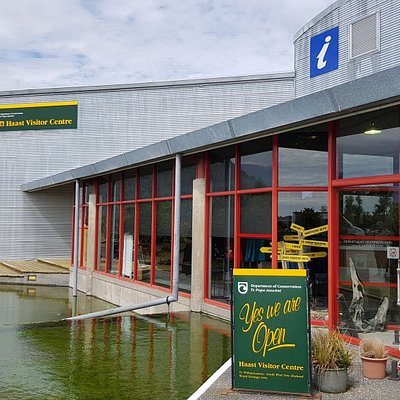 Main Entrance to Haast Visitor Centre.