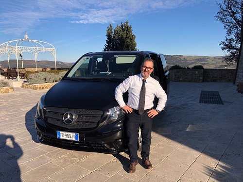 Our Company is skilled in Tour around Tuscany, We drive only Merceds Luxury Vans and our drivers are all English speaking. That's in this picture it is me, the owner,Marco Cortese